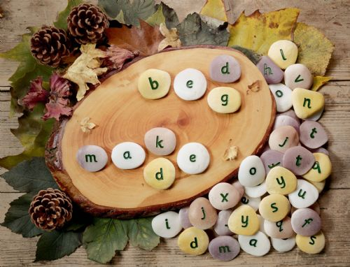 Alphabet Pebbles - Lowercase Word-building Set